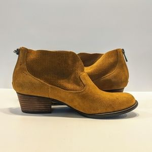 Jessica Simpson Honey brown suede ankle boot